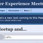 Meetup.com New Look