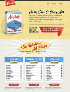 Classy Sites & Classy Ads ~ AdPacks.com