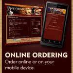 Online ordering at PF Changs