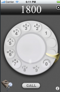 iRetroPhone - Rotary Dialer for iPhone on the iTunes App Store