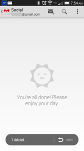 Empty Gmail
