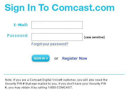 Forms Comcast Sign In Redesign Lauren Schaefer